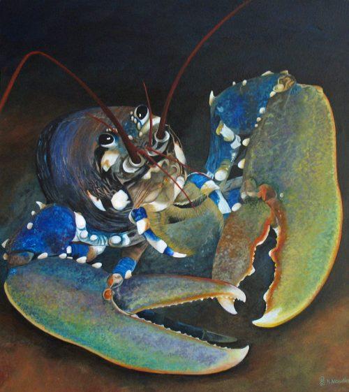 lobster original painting