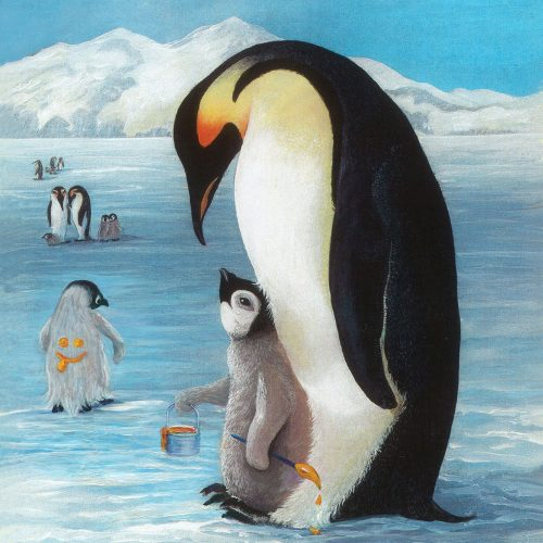 Penguin Lesson Art Card