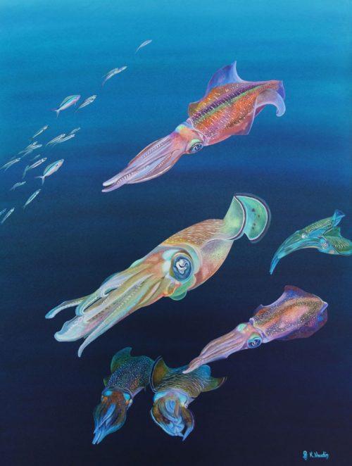 Squid Original Art