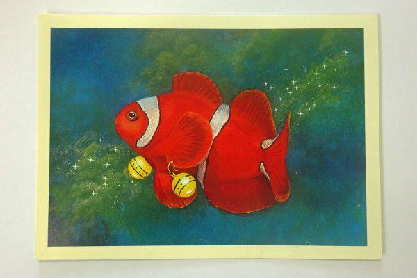 Clownfish Christmas card