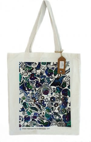 Shopping bag marine design