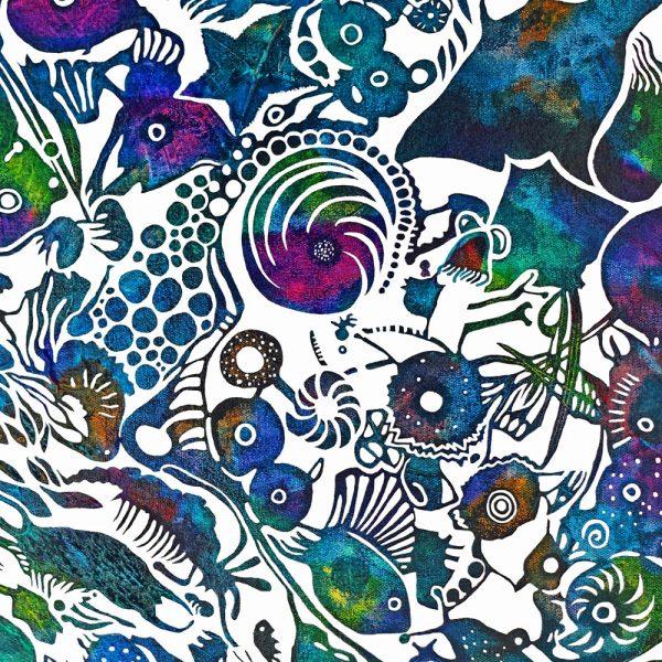 Plankton canvas print by Deep Impressions