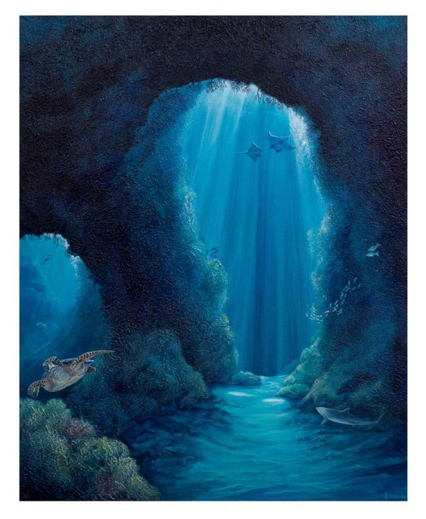 Cavern Vl canvas print